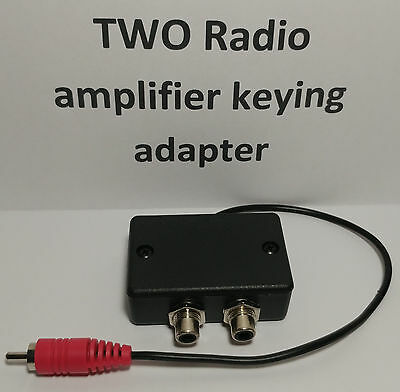 Allow ARB-704 TWO radios to key an Amplifier keying adapter relay interface