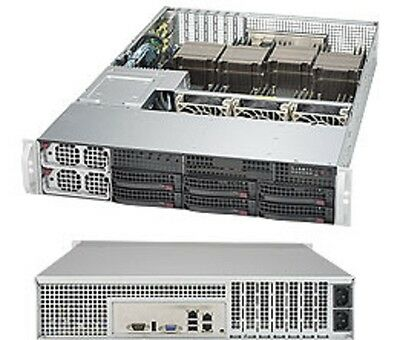 * * * * * SuperMicro SYS-8028B-C0R4FT 2U Rackmountable Barebone SuperServer