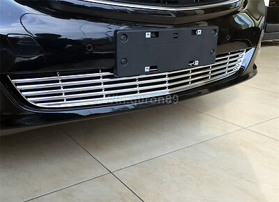 For Mercedes-Benz V Class W447 2014-2016 Front Lower Grille Grill Strip Lid Trim