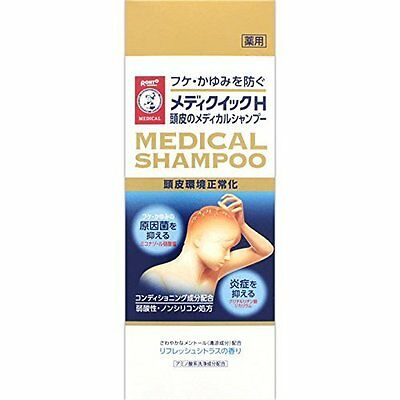 ROHTO MEDICAL SHAMPOO Medi Quick H Dandruff Itch Hair Scalp Cleaning JAPAN