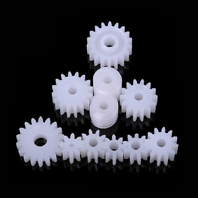 NEW Gears 11 Styles Plastic Gears All The Module 0.5 Robot Part for DIY Hot