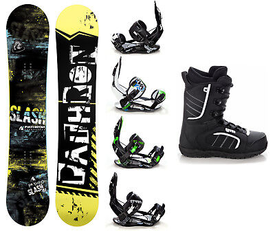 Snowboard Pathron Slash Carbon + Bindung Raven s220/s250 + Boots Raven Target