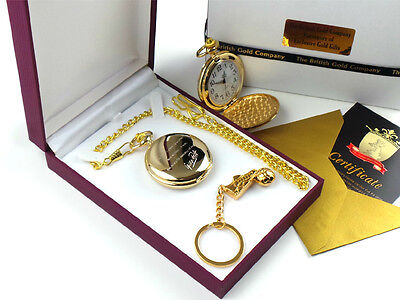 George Best Signed Engraved Custom Personalised Pocket Watch Football Boot Set