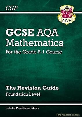 New GCSE Maths AQA Revision Guide Foundation - For the Grad New Paperback Free U