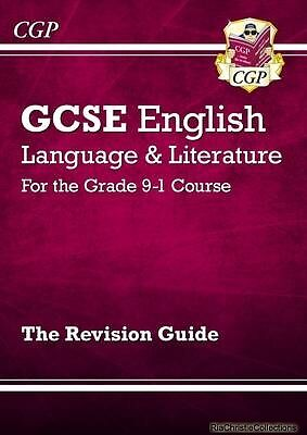New GCSE English Language and Literature Revision Guide - Fo New Paperback Free