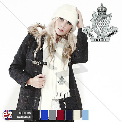 North Irish Horse - Scarf - With Embroidered Badge
