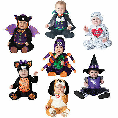 Mini Baby Kids Fancy Dress Spooky Animal Infants Halloween Costume Scary Outfit