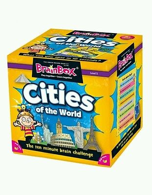 -* BrainBox Cities of the World Game -- The Ten Minute Brain Challenge - New