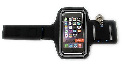 Black Armband Phone Pouch, Sports, Gym, Running Jogging, Cycling, Fitness, Gift