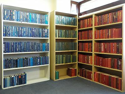 HUGE Collection of 471 Hard Cover Books for Decoration / Interior Design 10PARTS
