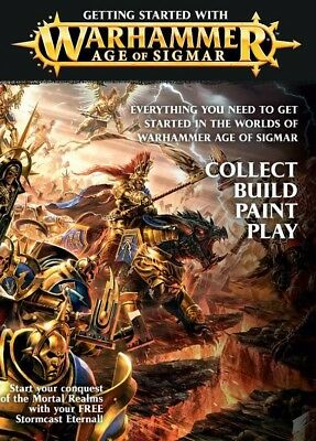 Getting Started with Age of Sigmar (Deutsch) Age of Sigmar Games Workshop GW AoS