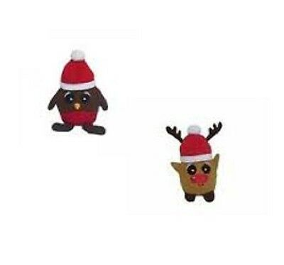 Festive Shaking Reindeer and Robin Chrsitmas Cat Toy