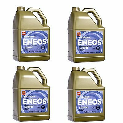 Eneos High Performance 5W30 Full Synthetic Motor Oil 3.788L x4 (4 Gallon)