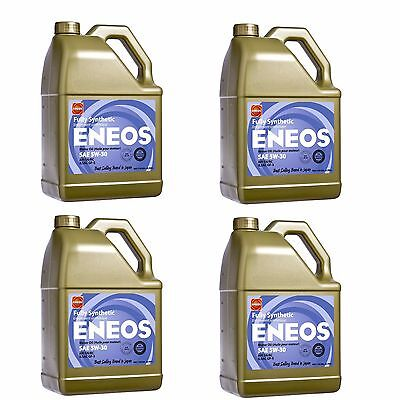 Eneos High Performance SAE 5W30 Full Synthetic Motor Oil 4.73L x4 Jugs