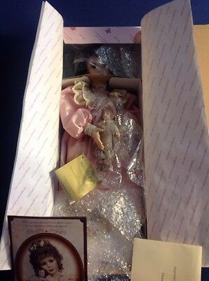 The Georgetown Collection Mary Elizabeth and Her Jumeau Doll *NIB *COA