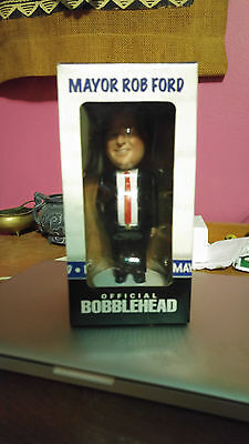 RARE Signed Rob Ford Bobblehead - Limited Edition 632 of 1000 - Toronto Mayor