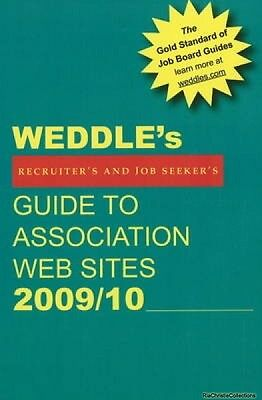 Weddles Guide to Association Web Sites Peter Weddle Paperback New Book Free UK D