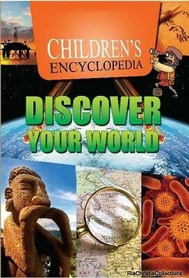 Childrens Encyclopedia Discover Your World Sterling Publishers New Hardback Free