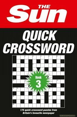 Sun Quick Crossword Book 3 The Sun New Paperback Free UK Post
