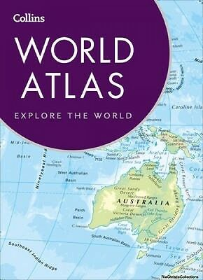 Collins World Atlas 9780008158514 Collins Maps Paperback New Book Free UK Delive