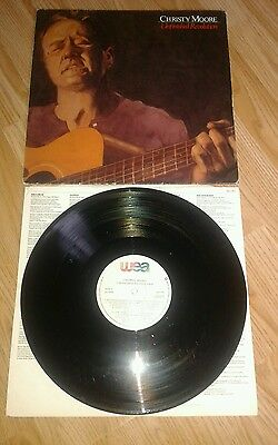 Christy Moore Unfinished Revolution Vinyl WEA Records WX 104 1987
