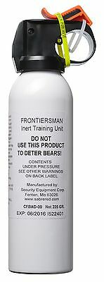 Frontiersman Practice Bear Spray (225 g) - Maximum Range - 9 Meters