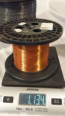MAGNET WIRE 24 AWG ESSEX 1 Lbs  13 ounces Jewlery Making Craft Hobby