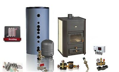 Stove with Water Jacket / PRITY WD W29 / 37 kW / Complete Package