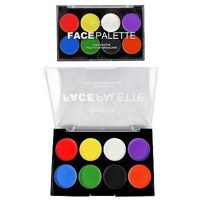 Halloween Face Paint Palette Red Black White Green Face & Body Paint Cream