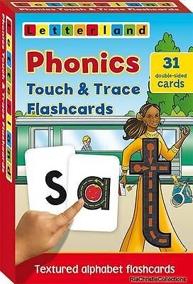 Phonics Touch & Trace Flashcards Lyn Wendon Cards New Book Free UK Delivery