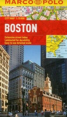 Boston Marco Polo City Map Marco Polo Travel Publishing Marco Polo Travel New Sh