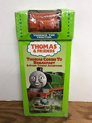 Thomas & Friends LIMITED EDITION  Terrence the Tractor & Video ~ Thomas Train