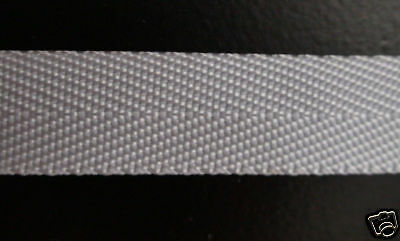 15mm BLEACHED WHITE POLYPROP TAPE webbing x 200mts