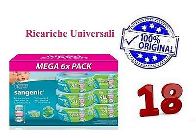 18 RECHARGES Tommee Tippee Sangenic Hygiène ULTRA- 0-36