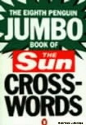 Eighth Penguin Jumbo Book of The Sun Crosswords New Paperback Free UK Post