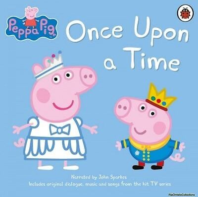 Peppa Pig Once Upon a Time John Sparkes CD-Audio New Book Free UK Delivery