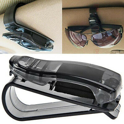 hot Car Sun Visor Glasses Sunglasses Ticket Receipt Card Clip Storage Holder