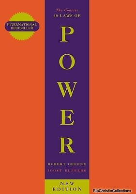 The Concise 48 Laws of Power Robert Greene Joost Elffers Paperback New Book Free