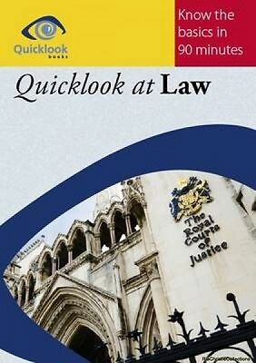 Quicklook at Law Peter McGarrick Paperback New Book Free UK Delivery