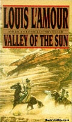 Valley of the Sun Louis LAmour New Paperback Free UK Post