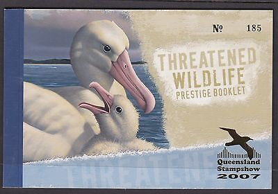 Australia 2010 Threatened Wildlife O/PT Prestige Booklet - PB135(1)