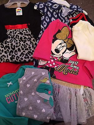 Baby Girl Clothes 6 Outfit Lot
