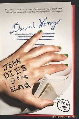 John Dies at the End David Wong Paperback New Book Free UK Delivery