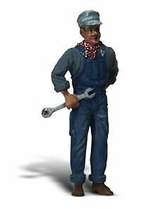 Woodland Scenics G Scale Mechanic With Wrench   Bn   2526