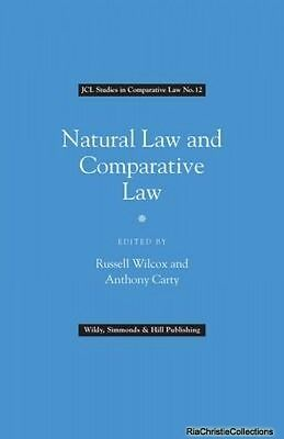 Natural Law and Comparative Law Russell Wilcox Anthony Carty Hardback New Book F