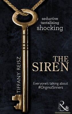 Siren the Original Sinners The Red Years Book 1 Tiffany Reisz New Paperback Free