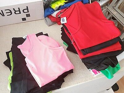 Job lot of excess stock mens womens kids clothing