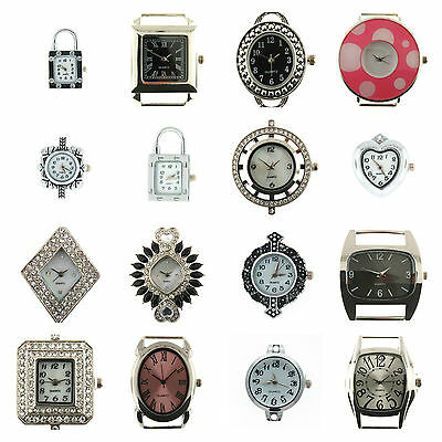Watch Face for Beading Jewellery Making Silver Plated - Superior Quality watches
