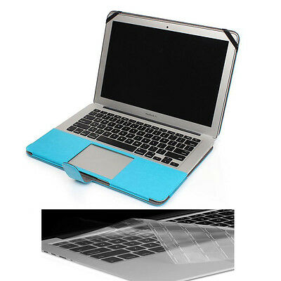 """PU Leather Hardcase Shell+ Keyboard Cover For Macbook PRO 13"""" Retina A1425 A1502"""