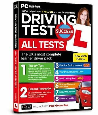 Driving Test Success All Tests 2016 Edition PC DVD ROM